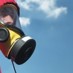 Asbestos removal, face mask