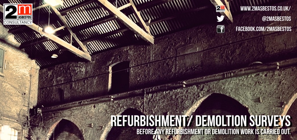 Asbestos Refurbishment Demolition banner